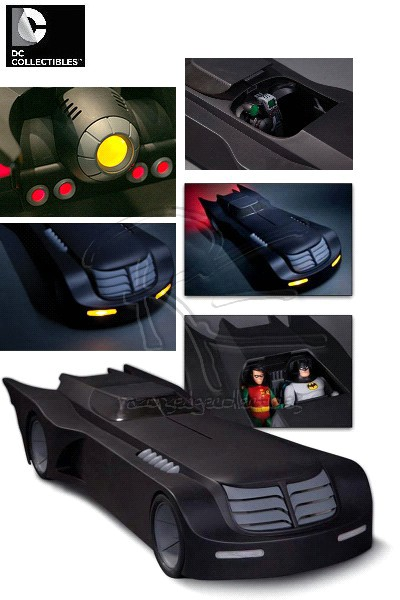 DC Batman The Animated Series 2 Foot Long Batmobile Vehicle